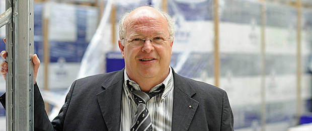 Gespür für Märkte: Siegbert Wortmann, Vorstandsvorsitzender der 1986 gegründeten Wortmann AG. Foto: Jürgen Krüger